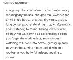 few of my favorite things