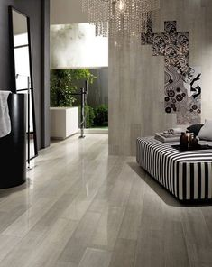 Porcelain floor tiles have been propounded as one of the most durable types of flooring that can be used in the interiors. It is perfect for high traffic areas considering it is a preferred choice for use even in malls and such high traffic zones. Also, it is a very hard flooring type which means it is less likely to crack and chip. If you choose to install glazed porcelain tiles, you ought to know that these are resistant to moisture and stains.