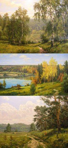 Русский пейзаж Художник Игорь Прищепа | искусство | Постила