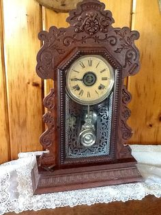 This Is A Kitchen Clock Also Known As A Gingerbread Clock