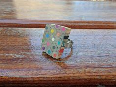 preschool teacher gift teacher gift Colorful ring color