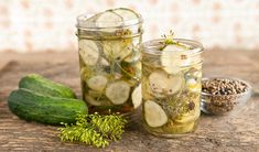 Quick Dill Pickles Chef Stefano Faita In the Kitchen Canning Recipes, Kitchen Recipes, Sauces, Burger Toppings, Refrigerator Pickles, Veggie Tales, Preserves, Healthy Eating, Appetizers