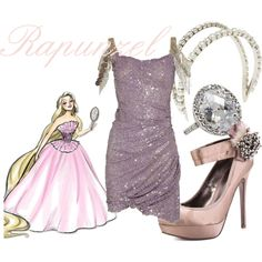 """Rapunzel"" by mitomana on Polyvore"
