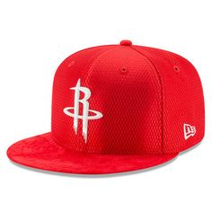 the best attitude 5c7d7 111b6 Men s Houston Rockets New Era Red 2017 NBA Draft Official On Court  Collection 59FIFTY Fitted Hat