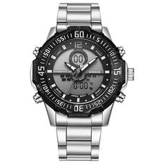 Cheap watch free japanese anime, Buy Quality watch elegant directly from China watch pearl Suppliers: Weide Brand Fashion Casual Digital Watch Men Led Full Steel Mens Sport Quartz-Watch Military Army Male Watches relogio masculino Sport Chic, Cheap Watches, Watches For Men, Fashion Brand, Mens Fashion, Woman Fashion, Daily Fashion, Military Army, Watch Brands