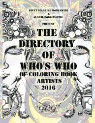The Official Who's Who Directory of Coloring Book Artists is HERE! – Adult Coloring Worldwide