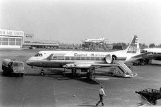 Chicago Midway Airport - Capital Airlines - Vickers Viscount by twa1049g on Flickr.