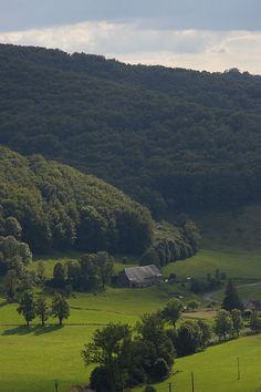 Paysage Tournemire (Cantal), France by jacme31, via Flickr