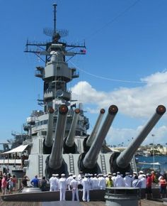 USS Arizona in Hawaii