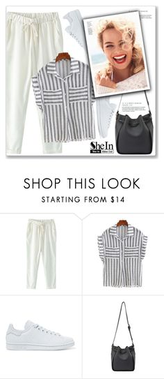 """""""SheIn"""" by amra-mak ❤ liked on Polyvore featuring adidas Originals and shein"""