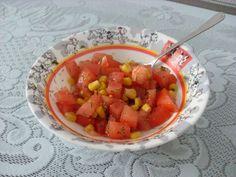 Przepis: Sałatka z pomidorów