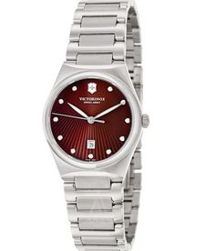 Victorinox Swiss Army Women's 241522 Victoria Brown Dial Women's Watch