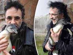 SUPERVET Noel Fitzpatrick has performed one of his most challenging operations so that an orphan penguin can have a Christmas swim. Tv 2017, Irish People, Orphan, I Love Him, A Good Man, Penguins, Amazing Man, Super Man, View Source