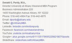 weekend mba ualbany school of business graduate programs