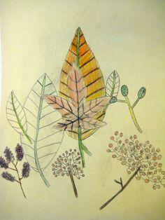 Autumn treasures. Art lesson for children