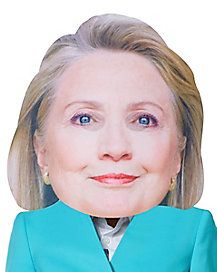 Show some political pride without having to worry about doing your hair or make up with this hilariously large Hillary mask! Political Party, No Worries, Pride, Politics, Make Up, Horses, Halloween, People, Projects