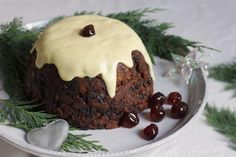This scrumptious gluten-free Christmas pudding is loaded with fruit and spices, and uses simple gluten-free alternatives, so that everyone can indulge. Serve it with homemade vanilla custard for a truly festive dessert.