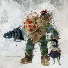 Bioshock Fan Art by BOMBATTACK