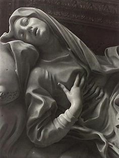 gian lorenzo bernini: Ecstasy of Saint Teresa (~1452). The most X rated sculpture of all time.. seen in Santa Maria della Vittoria, Roma (~1985)