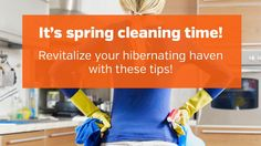 From safety items like checking your fire extinguisher to cleaning projects like carpet care, we've got your spring cleaning tips here!