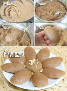 Voll gemessenes Mehl Halva Rezept 2 Tassen Mehl (gebrauchte Tassen) - Stephanie Bilder - Pratik Hızlı ve Kolay Yemek Tarifleri Halva Recipe, Recipe Recipe, Turkish Sweets, Cake Recipes, Dessert Recipes, Tasty, Yummy Food, Recipe Sites, Turkish Recipes