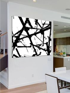 """Purchase this amazing """"Marked of Secret"""" Abstract Canvas Painting and we will ship the item for free. This is the perfect centerpiece for your home. #abstractart"""