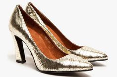 A Metallic Heel That's Perfect for Evening -- The Cut