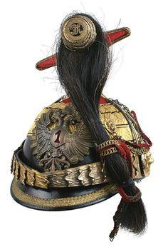 Austrian 1st Uhlan Senior officer czapka helmet