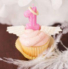 Little Angel Birthday Smash Cupcake