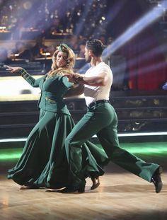 Dancing With The Stars Season 15 Fall 2012 Kirstie Alley and Maksim Chmerkovskiy Viennese Waltz