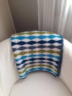 Wavy Baby Blanket By Stephanie Gage - Free Crochet Pattern - (ravelry)