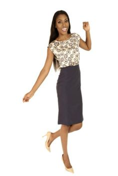 Bimbo Midi Dress Floral Blue  #EVEANDTRIBE  #AfricanFashion #NigerianFashion #BuyNigerian   Available at http://lespacebylpm.com/