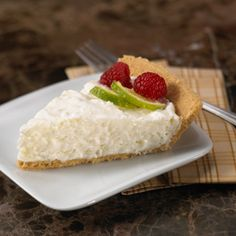 This frozen, coconut pie tastes like no-bake cheesecake. Best of all you only need 5 minutes to make it.