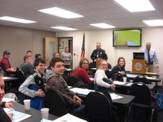 Start of the UNH Police Citizens Police Academy
