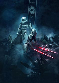 501st Legion: Vader\'s Fist VS Space Cockroaches 4 by Guillem H. Pongiluppi | Fan Art | 2D | CGSociety