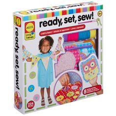 Alex Toys Little Hands Ready Set Sew Kit, Multicolor