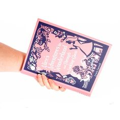 Alice Book Clutch by Chick Lit Designs
