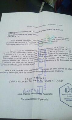Denuncia PRD de Aquiles Serdán ante el IEE presiones y prestación se internet gratuito a favor de candidata del PRI | El Puntero