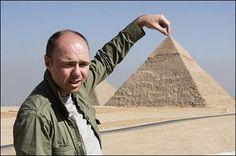 Karl Pilkington, travelling abroad.