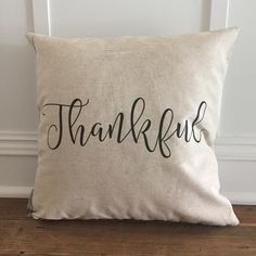 Introducing our Fall 2016 collection!! So Vintage Chic handmade linen pillows are the perfect way to add some cozy to your home for the Fall season! // sovintagechic.com