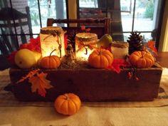COTTON PICKIN CUTE: Table Centerpiece DIY AS Easy As Pie