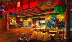 Gardens of Time | Monastery Interior