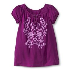 Girls' Peasant Tee