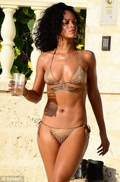 Rihanna wore it on her latest vacation to Barbados