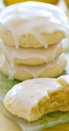 Lemon Glazed Soft-Baked Sugar Cookies ~ light, fluffy, incredibly delicious, and delightfully easy to make!