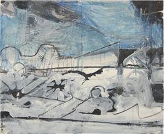 Untitled – Work on paper-Drawing – Категории 'classifications' – Richard Diebenkorn Foundation