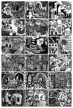 18 collaborative Panels by Fabric Lenny, via Flickr