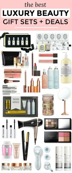 The best luxury beauty gift sets and deals from the Nordstrom Anniversary Sale! You won't believe the savings you can get off of Jo Malone, Diptyque, Kiehl's Charlotte Tilbury, The DryBar, neuLash, T3, Bobbi Brown, Clarisonic, Paula's Choice, and more! Products selected by Orlando beauty blogger Ashley Brooke Nicholas   best makeup, best skincare products, best luxury makeup