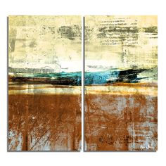 'Bueno Exchange XXIV' by Alexis Bueno 2 Piece Graphic Art on Wrapped Canvas Set