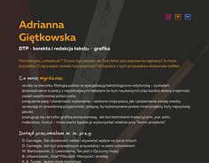 "Check out new work on my @Behance portfolio: ""Projekt CV"" http://on.be.net/1V0tMhR"